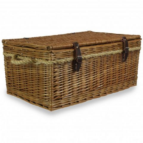 Cotswolds Wicker Storage Basket Coffee Table